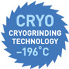 Знак CRYO Cryogrinding Technology —196C