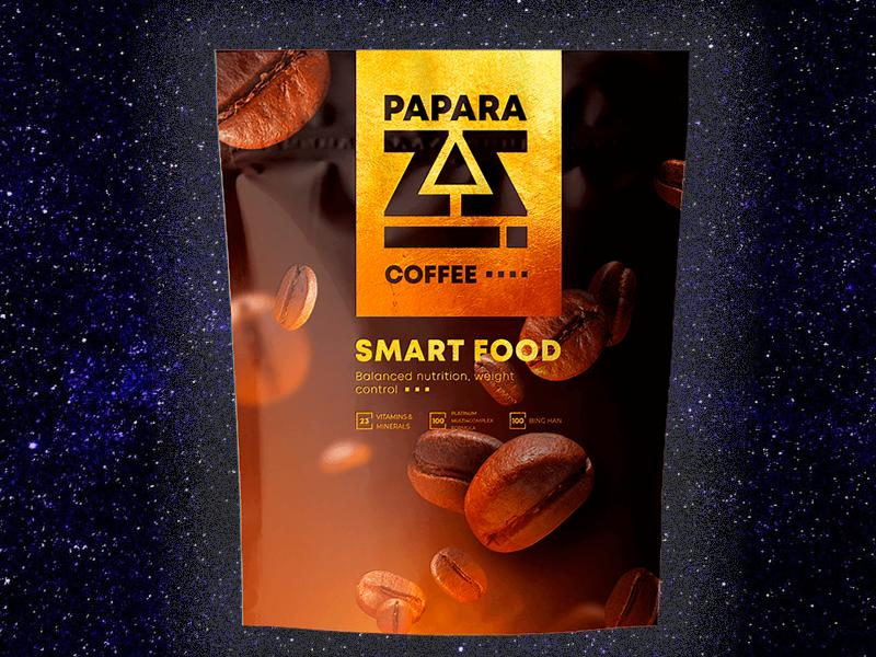 Multiprotein shake PAPARAZZI COFFEE