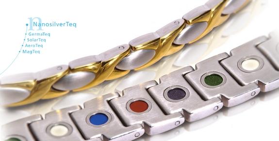 Armbänder für die Gesundheit